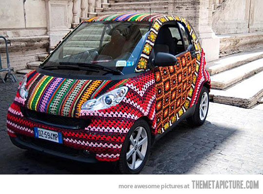 funny-crochet-car-knitting