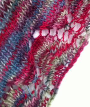 Stickad sjal monster gratis – Femininitet och skönhet av charm 1c5f413e56f04